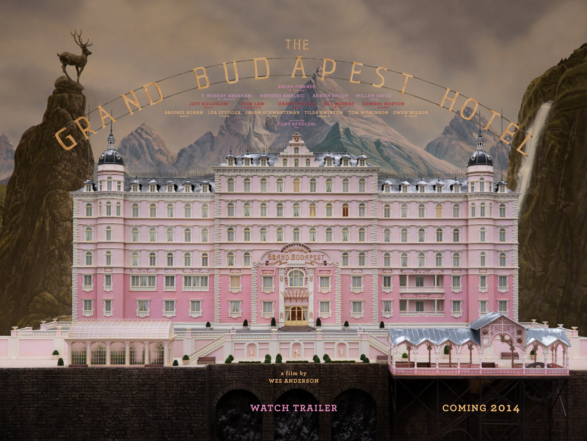NEW TRAILER: The Grand Budapest Hotel