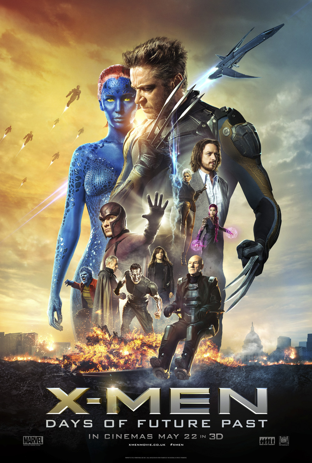 NEW TRAILER: X-Men: Days of Future Past