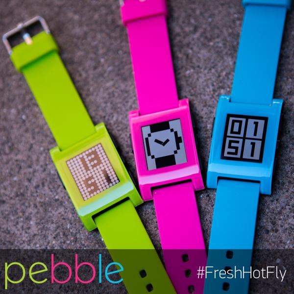 Get Pebble: #FreshHotFly