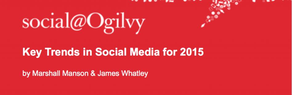 Social Media Trends for 2015