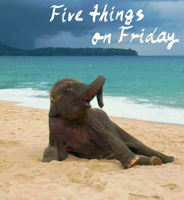 Five things on Friday #110