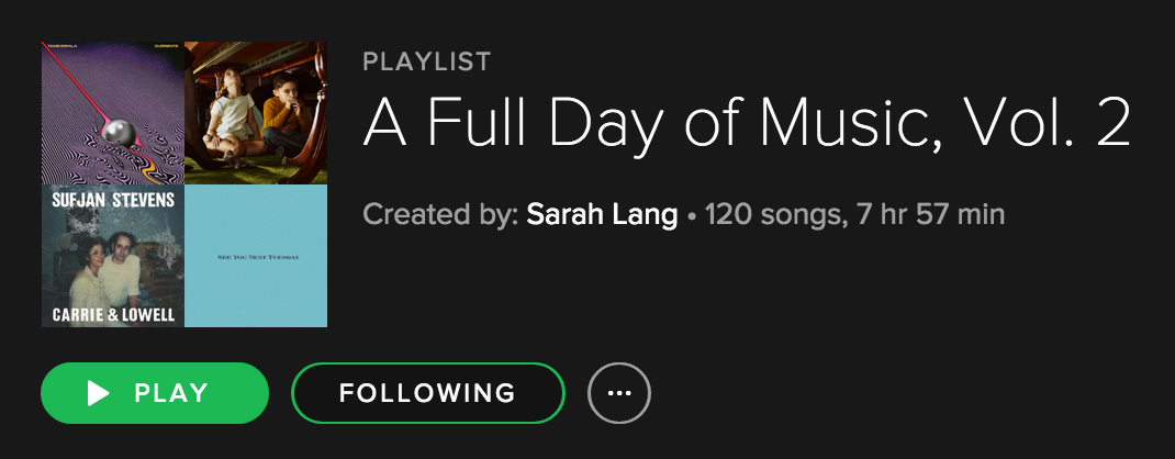 A Full Day of Music, Vol 2