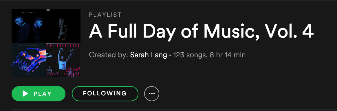 A Full Day of Music Vol. 4